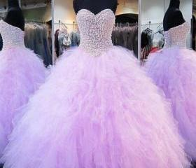 Puffy Ball Gown Swee..