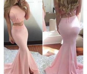 Pink two pieces lace..