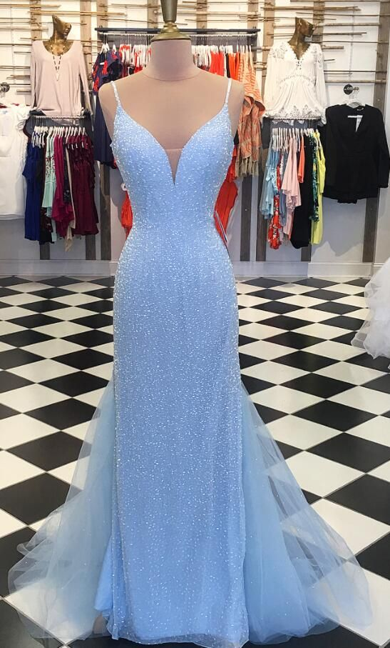 To acquire Sequin blue prom dresses picture trends