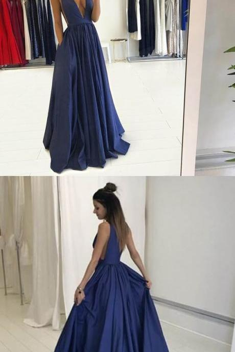 Sexy Prom Dress,Backless Prom Dress,Long Prom Dress,Evening Dress,M00082