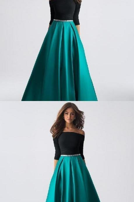 Custom Made Admirable Prom Dresses Long, Green Prom Dresses M7517
