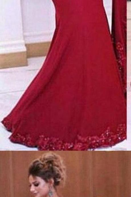 prom dresses,Sexy Prom Dress,2017 prom dress red long prom dress mermaid prom dress
