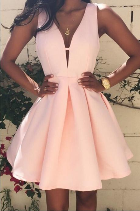 Homecoming Dresses Prom Dress,Prom Gown,Pink Homecoming Dress,Short Homecoming Dresses
