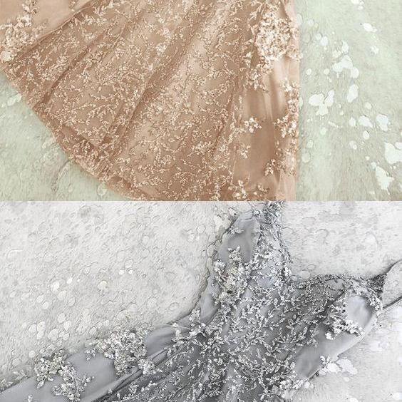 Champagne Homecoming Dresses,Short Prom Dresses,Homecoming Dresses M3292