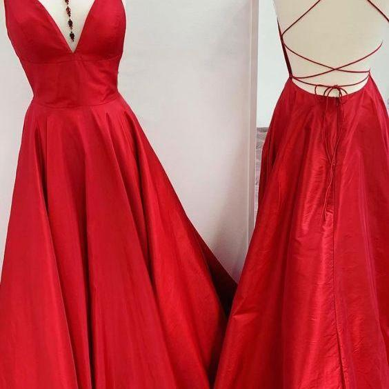 Red Long Prom/Evening Dress m869